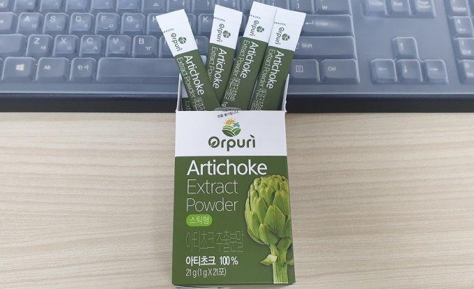 오푸리(Orpuri) Artichoke Extract Powder 추출분말 스틱 포장