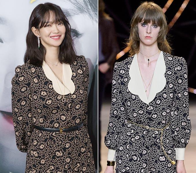 배우 신민아, 셀린느 2020 F/W 컬렉션/사진=메가박스중앙㈜플러스엠, 셀린느