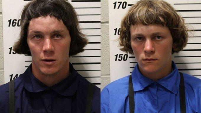 아론 슈워츠 (22 세 (왼쪽))와 패티 슈워츠(18 세)는 미성년자 친척과 성관계를 가진 혐의로 유죄 판결을 받았다. /사진 =  웹스터 카운티 보안관 사무실