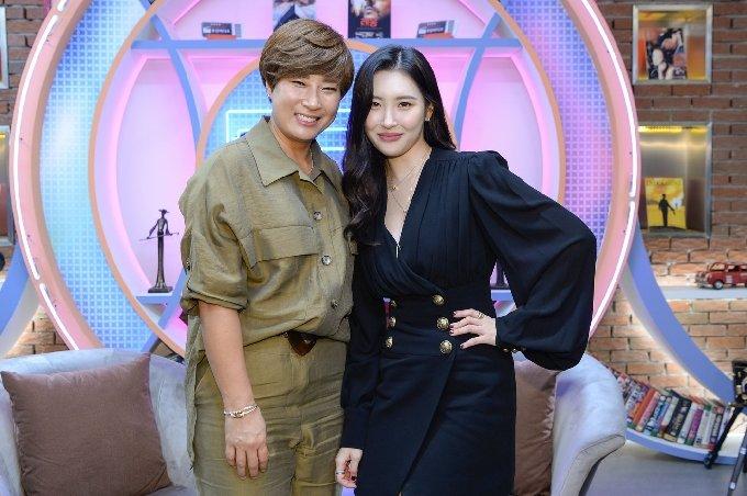 박세리(왼쪽)와 선미/사진=SBS © 뉴스1