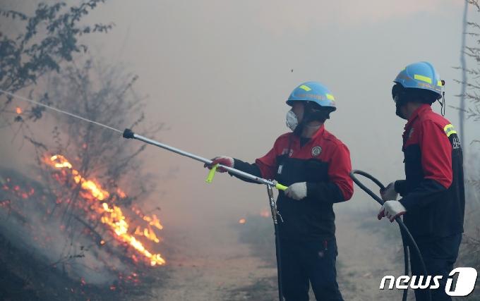 중부산림청 보은국유림관리소, 산불예방진화대원 60명 모집