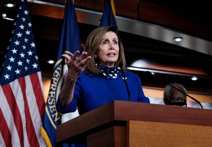 낸시 펠로시 미국 하원의장/사진=AFP