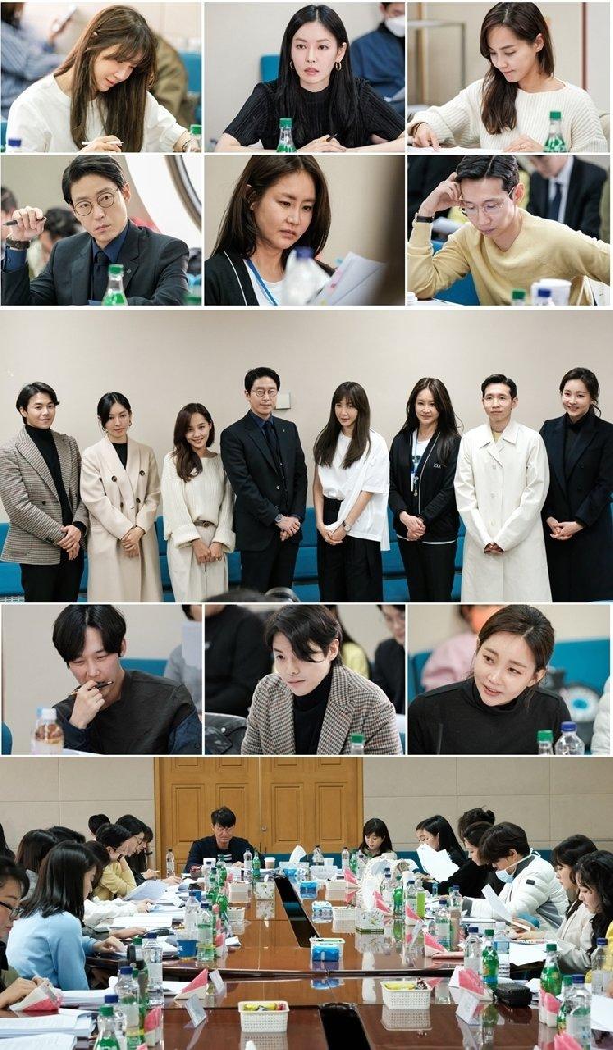 '펜트하우스' 대본리딩/SBS © 뉴스1