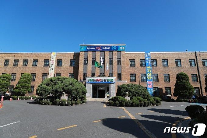 충북도청 전경 © 뉴스1