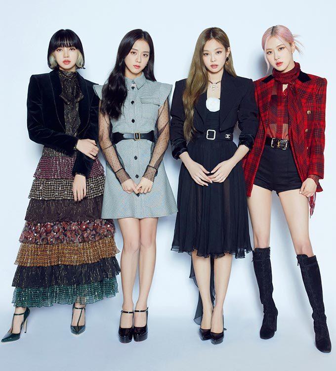 블랙핑크, 명품으로 휘감은 4인4색 초호화 패션…모델 룩 보니 - 머니투데이