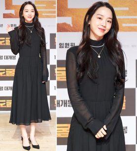"""'도굴' 신혜선, 시스루 원피스도 단아하게…""""우아한 매력"""""""