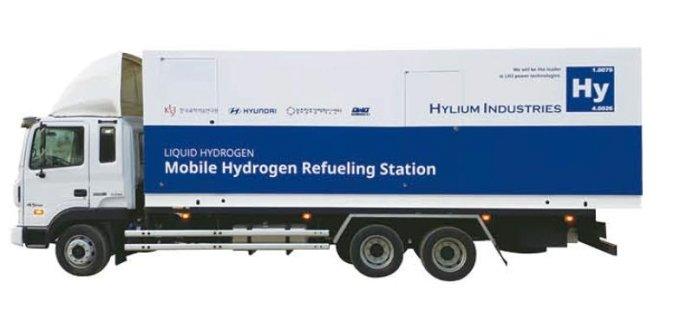 하이리움산업 이동식 액화수소 스테이션 이미지 / 사진제공=하이리움산업