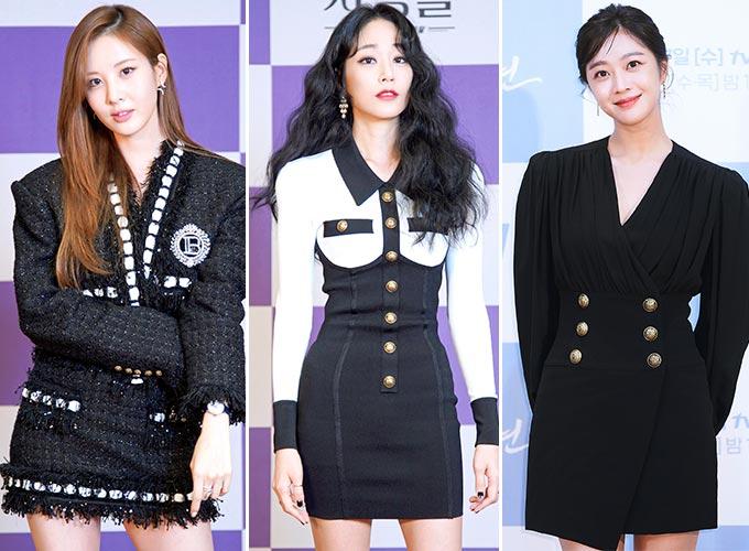 가수 겸 배우 서현, 배우 김효진, 조보아/사진제공=JTBC, tvN