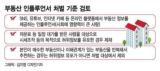 [단독]'허위정보' 유포 부동산 인플루언서, 무료면 처벌 안한다
