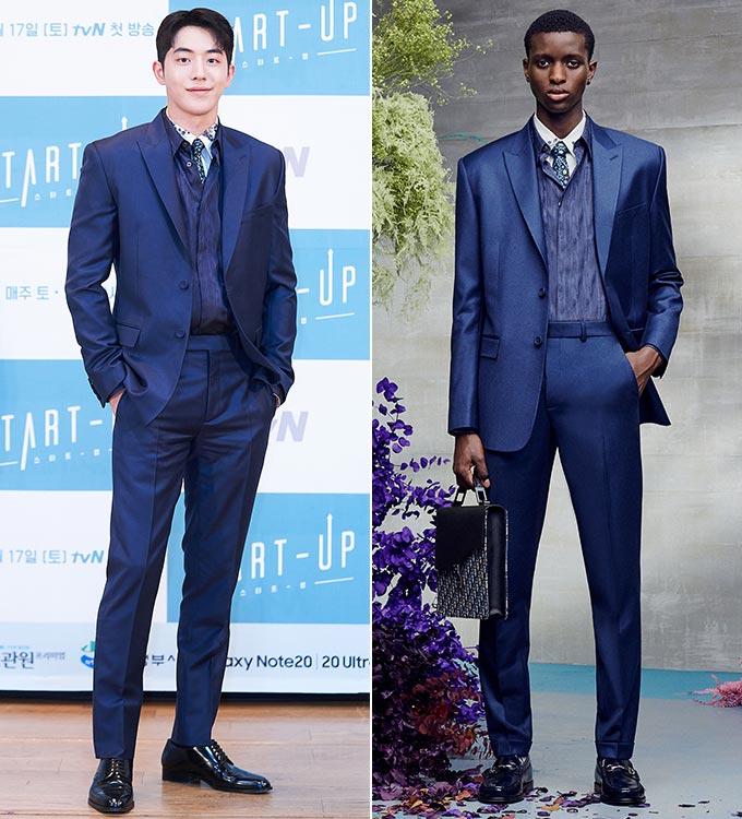 모델 겸 매우 남주혁, 디올 맨 2021 리조트 컬렉션/사진=tvN, 디올 맨
