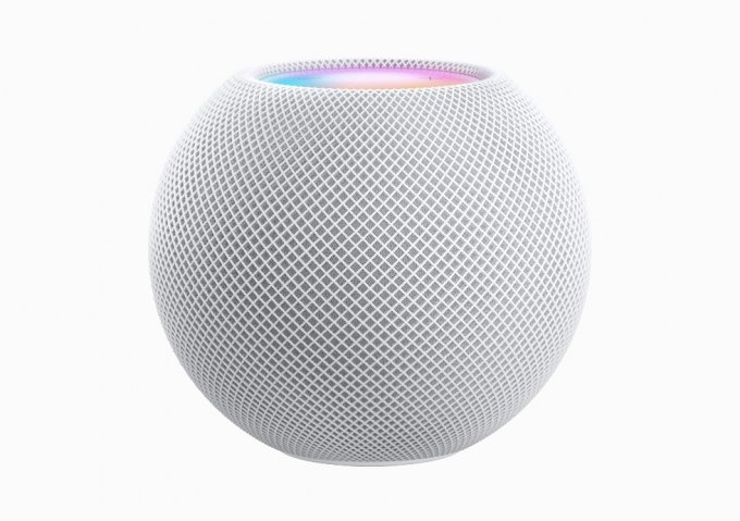 애플의 새 AI(인공지능) 스마트 스피커 '홈팟 미니' /사진=애플