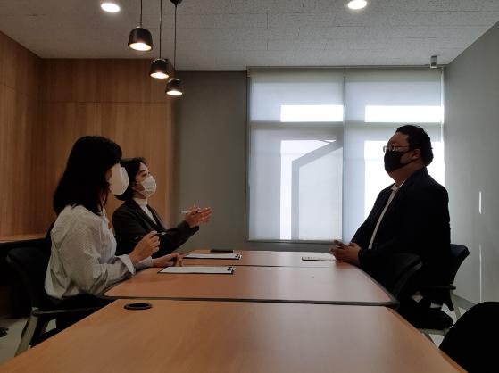 마이렌 인터뷰 현장 /사진제공=성균관대 창업지원단