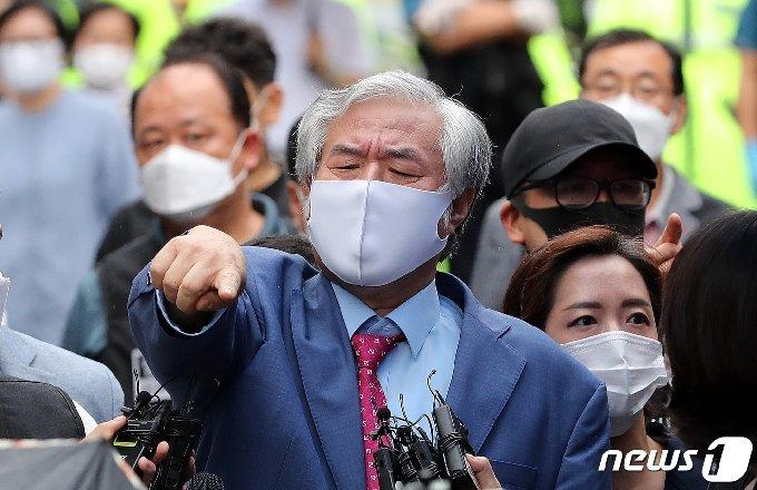 전광훈 목사. 2020.9.7/뉴스1 © News1 박지혜 기자
