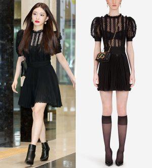 청하, 매혹적인 시스루 패션…걸친 것만 1500만원대?