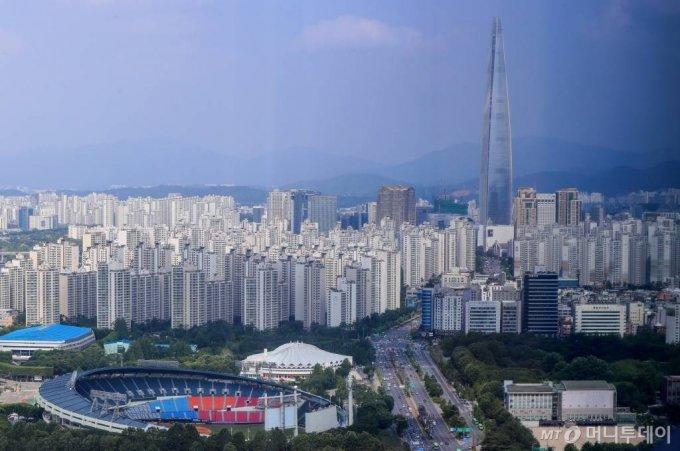 서울 송파구 일대의 아파트 모습./사진= 이기범 기자