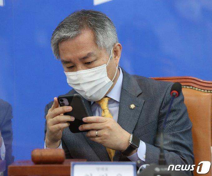 최강욱 열린민주당 대표 © News1 박세연 기자