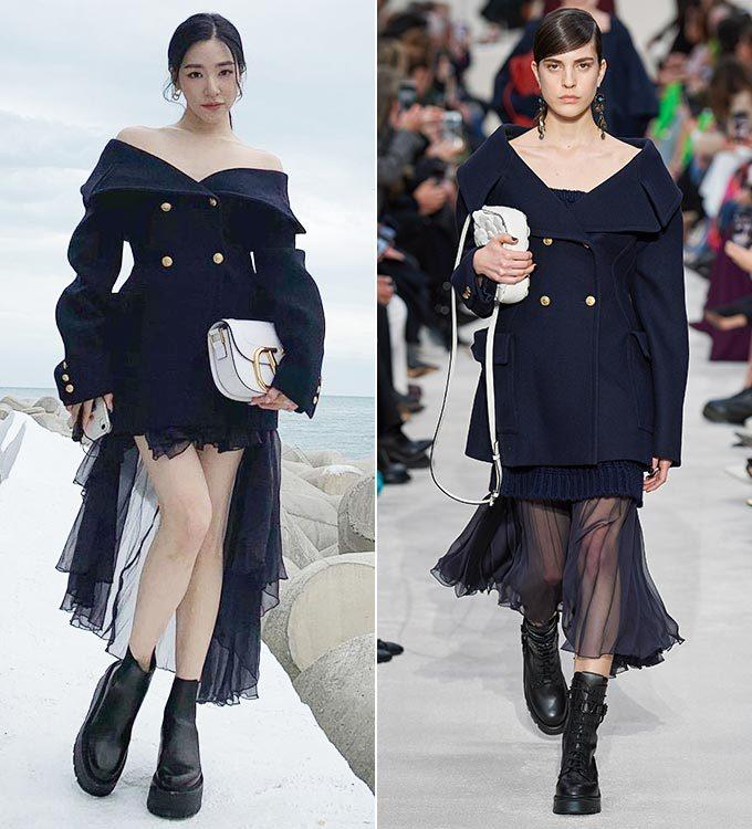 가수 티파니 영, 발렌티노 2020 F/W 컬렉션/사진=티파니 인스타그램, 발렌티노