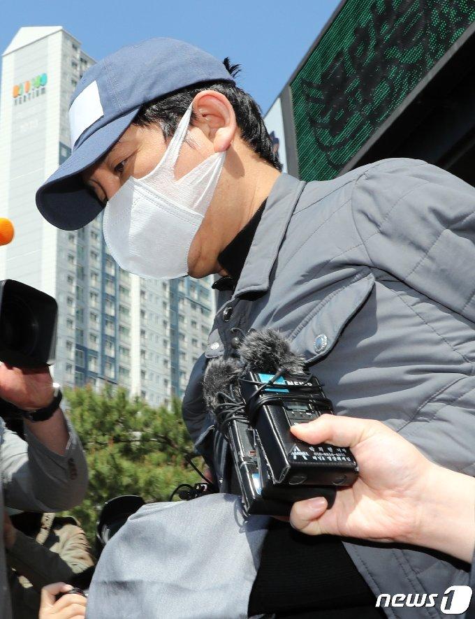 1조6000억원대 '라임 환매중단 사태'의 배후 전주(錢主)로 지목된 김봉현 전 스타모빌리티 회장. 2020.4.26/뉴스1 © News1 이재명 기자