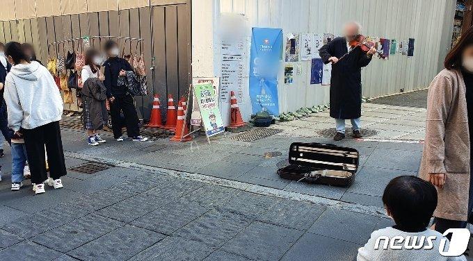 사회적거리두기 1단계 완화 후 첫 일요일을 맞은 인사동. 2020.10.18 © 뉴스1 서혜림 기자