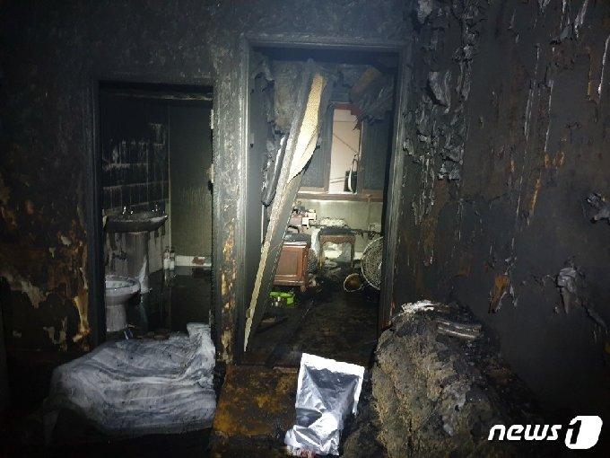 사고 현장.(부산경찰청 제공) /© 뉴스1
