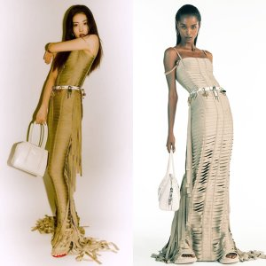 선미, 몸매 드러나는 전신 초밀착 드레스…