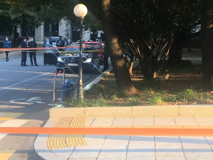 국회도서관 폭발물 해프닝…