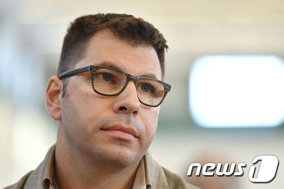 여성 32명에 고의로 HIV(인간면역결핍바이러스)를 옮긴 혐의에서 유죄를 인정 받아 징역 24년을 선고받은 이탈리앗 남성 발렌티노 탈루토. /사진제공=AFP/뉴스1