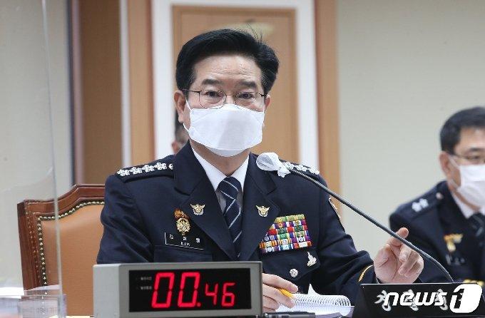 김창룡 경찰청장 2020.10.8/뉴스1 © News1 이승배 기자