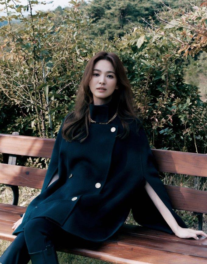 배우 송혜교/사진제공=미샤(MICHAA)