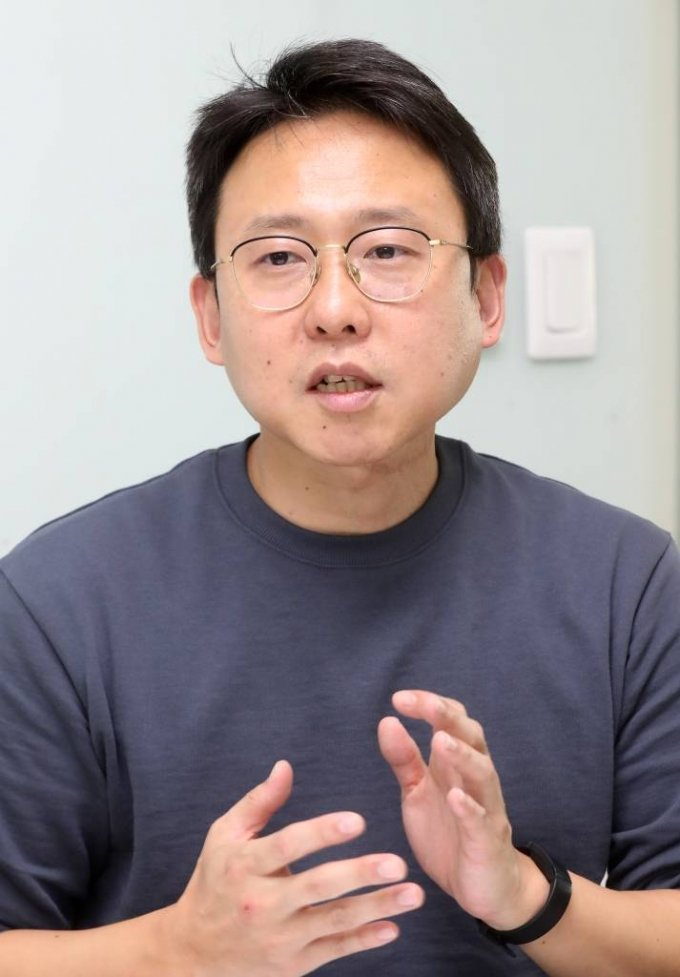 20일 박기범 비플러스 대표 (스타트업 스토리) 인터뷰 / 사진=홍봉진기자 honggga@