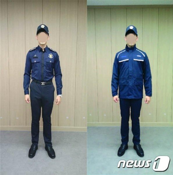 대체복무요원 일반근무복(좌)과 작업근무복.(법무부 제공) © 뉴스1