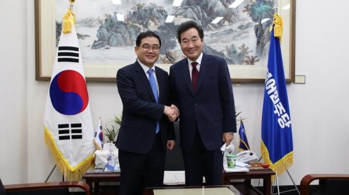 허성무 창원시장 이낙연 대표에 문화·자치분권 건의