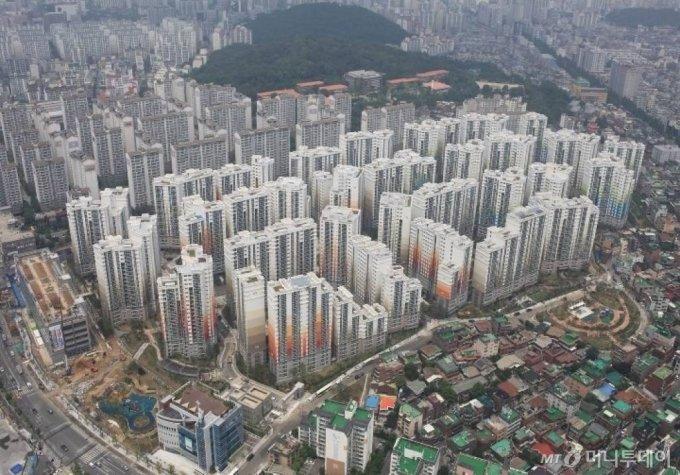 서울 강서구 '강서힐스테이트' 전경./사진= 현대건설