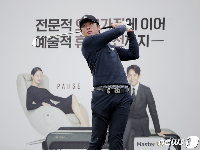 [사진] 김태훈 '연습도 진지하게'