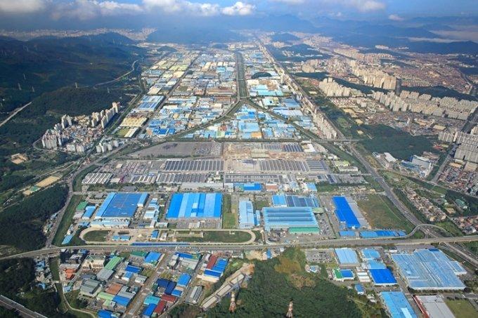 창원 스마트그린산단. /사진=한국산업단지공단