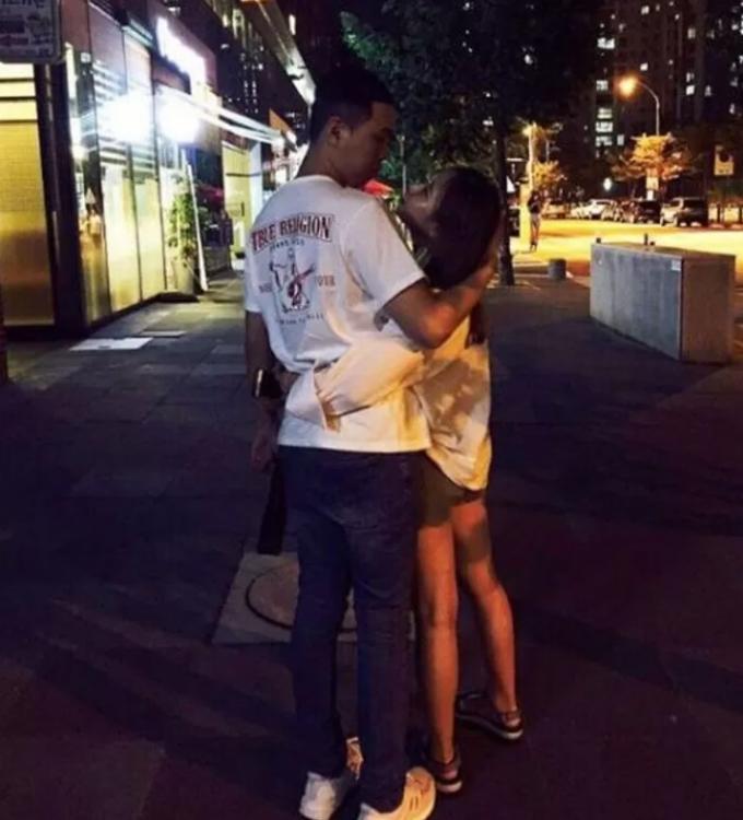 래퍼 비와이와 그의 여자친구/사진=비와이 인스타그램