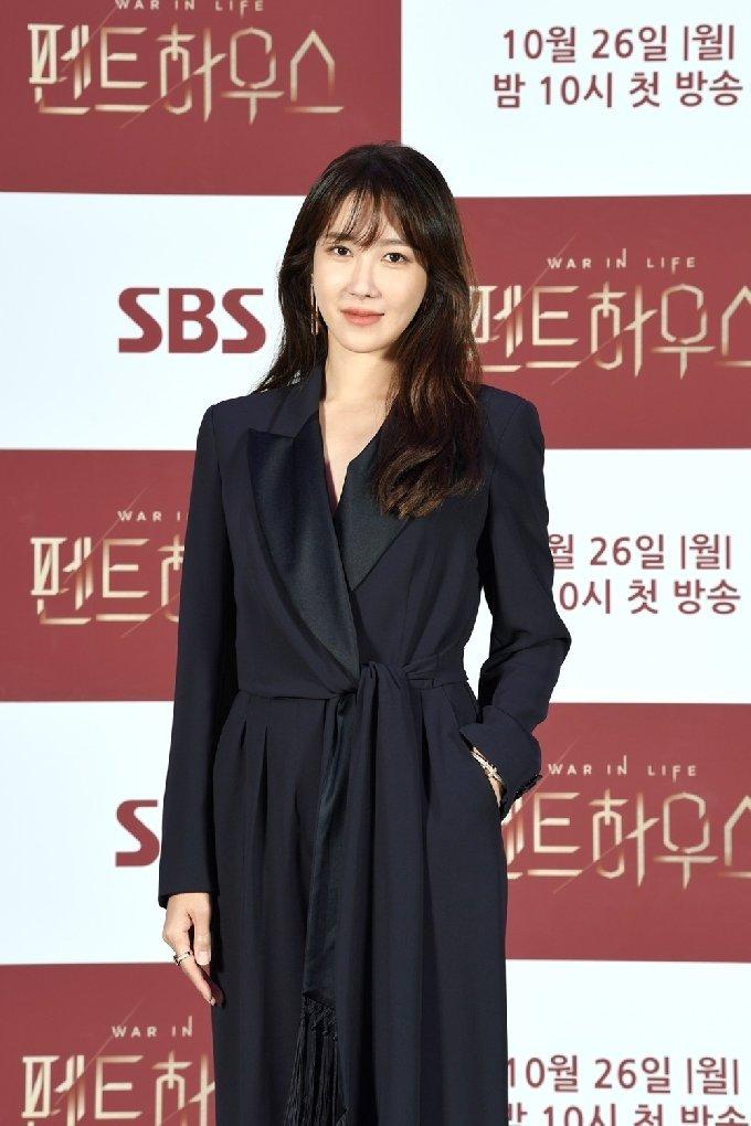 배우 이지아/SBS '펜트하우스' 제공© 뉴스1