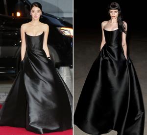 서예지, '595만원' 아찔한 코르셋 드레스…