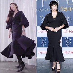 제시카 vs 김혜수, 564만원 드레스 착용…