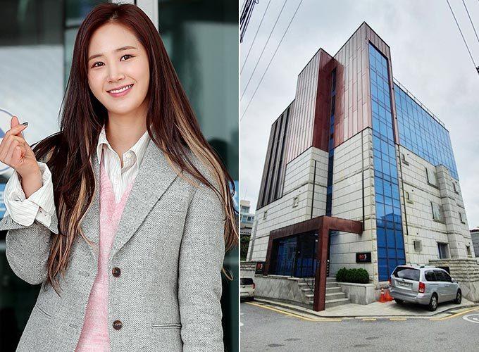 그룹 소녀시대 유리와 그가 매입한 논현동 빌딩/사진=머니투데이 DB, 원빌딩 제공