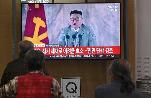 김정은 북한 국무위원장/사진=AFP