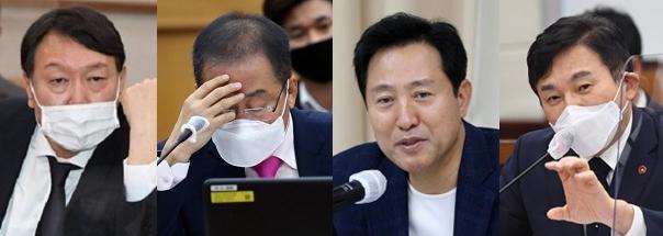 정치인 윤석열, 한걸음 더…견제하는 야권 잠룡