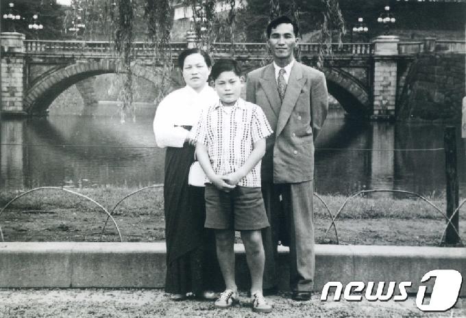 [사진] 유년시절의 이건희 회장