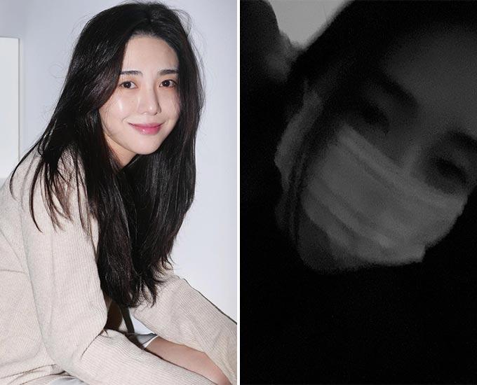그룹 AOA 출신 권민아/사진=권민아 인스타그램