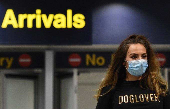 지난 6월 영국 맨체스터 공항의 모습. /사진=AFP