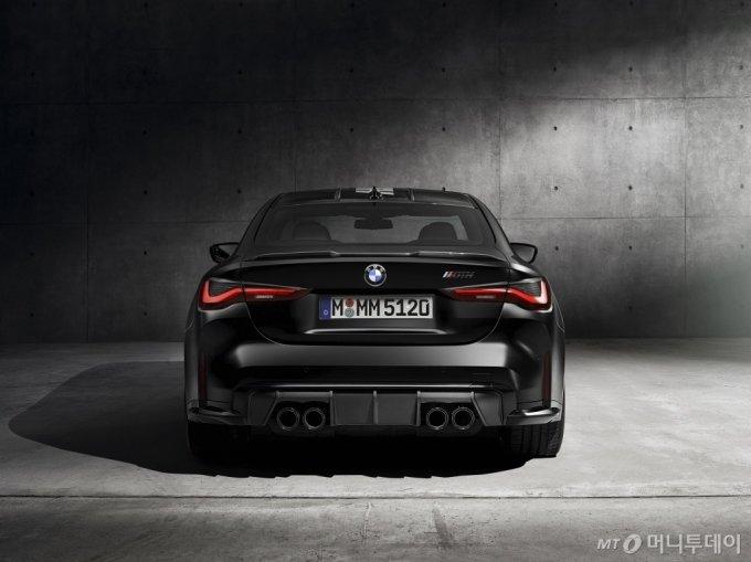 '뉴 M4 컴페티션 쿠페 x KITH' 뒷부분/사진제공=BMW