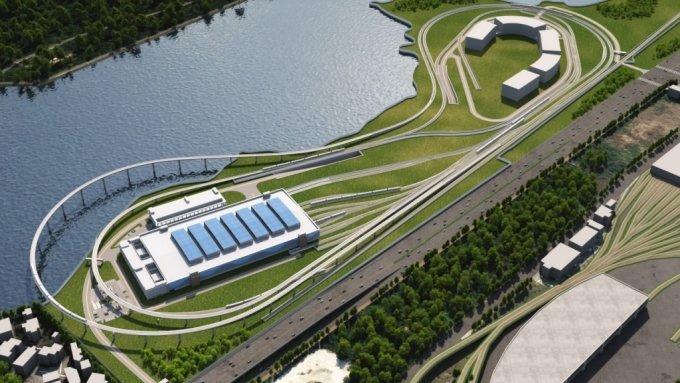 싱가포르 철도종합시험센터(ITTC) 조감도. /사진제공=GS건설