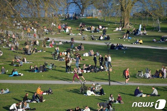 스웨덴 수도 스톡홀름 풍경. /사진=AFP/뉴스1