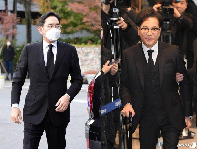 이재용 삼성 부회장(왼쪽)과 이재현 CJ 회장 /사진=김휘선 기자·뉴스1