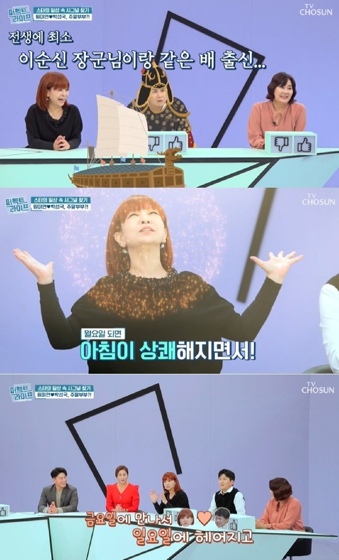 TV조선 '퍼펙트라이프' 방송화면 갈무리 © 뉴스1